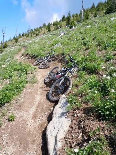Epic mountain bike trail, Rossland