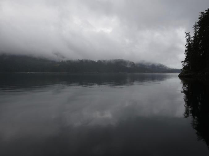 Rain, Quadra Island