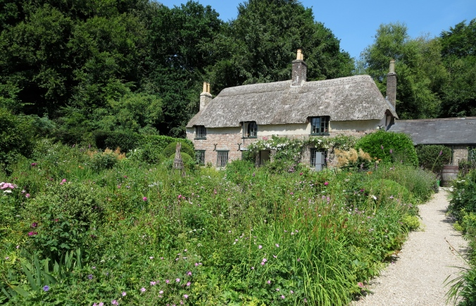 Sunny day at Thomas Hardy's cottage