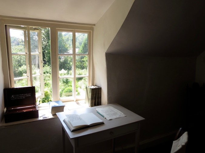The bedroom where Thomas Hardy wrote