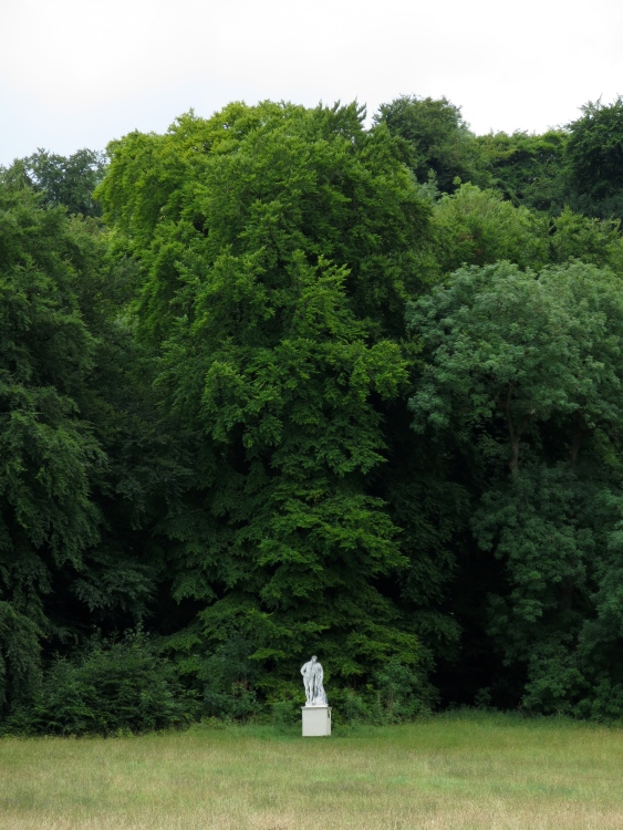 A statue in the gardens of Gilbert White