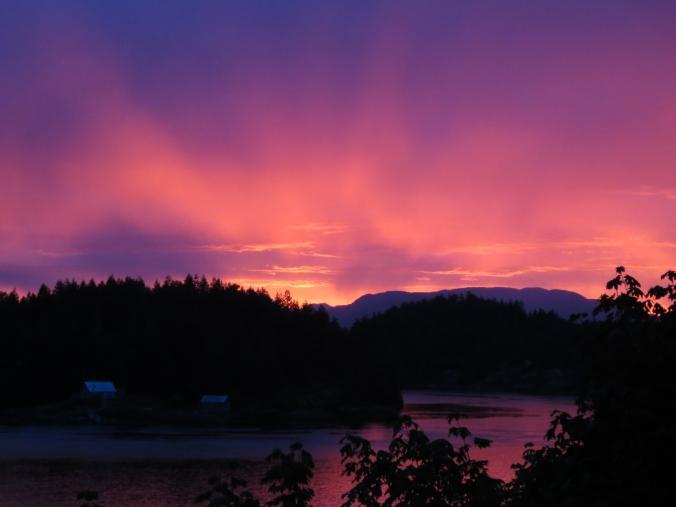 Sunset, Quadra Island, BC