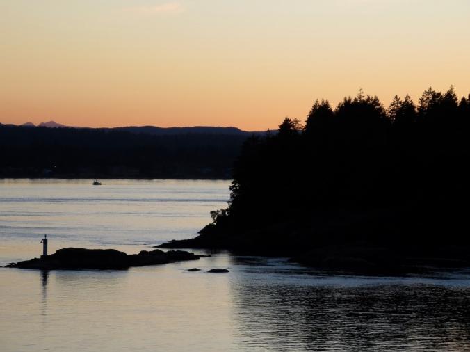 Twilight, Quadra Island