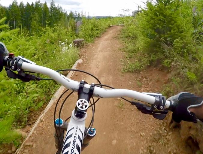 Vanilla MTB trail, Cumberland