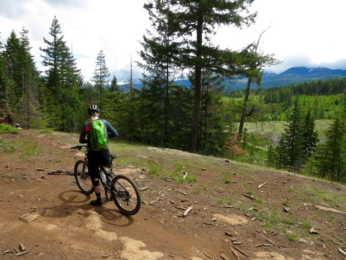 Mountain biking Cumberland, BC