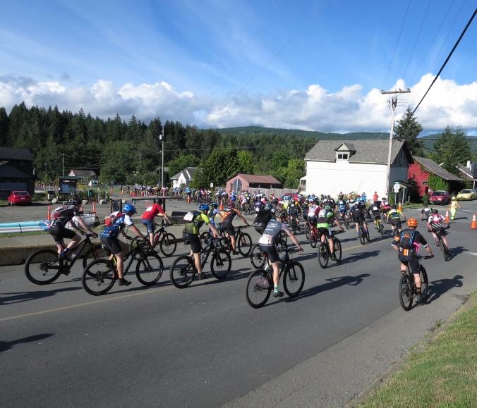 BC BC Bike Race, Cumberland, BC