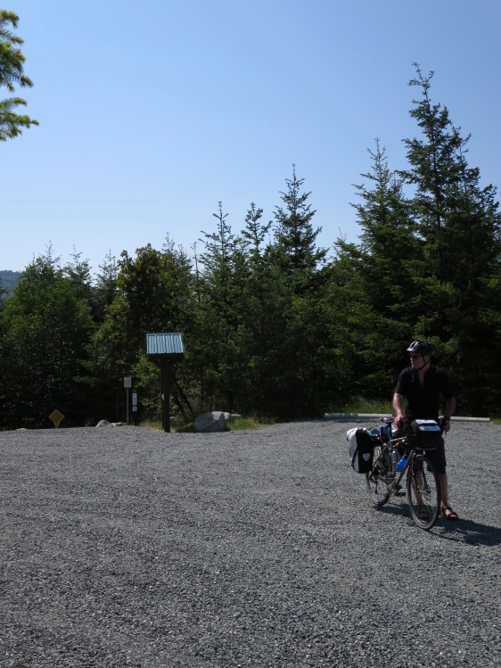 emerging from Malahat Connector
